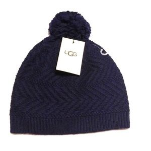 Ugg Navy Blue Knit Hat (NWT)